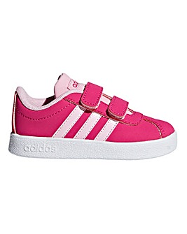 adidas VL Court 2.0 Infant Trainers