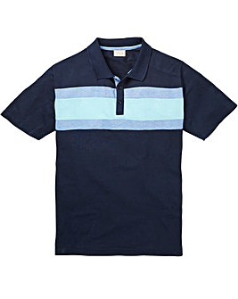 WILLIAMS & BROWN Short Sleeve Polo Shirt Longer