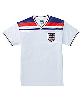 Scoredraw England 1982 Retro Football Shirt