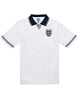 Scoredraw England 1990 Retro Football Shirt