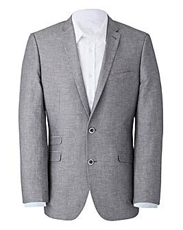 WILLIAMS & BROWN LONDON Linen Mix Suit Jacket Regular