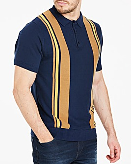 Short Sleeve Polo Style Knit