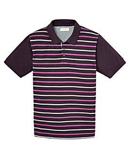 WILLIAMS & BROWN Short Sleeve Polo Shirt Regular