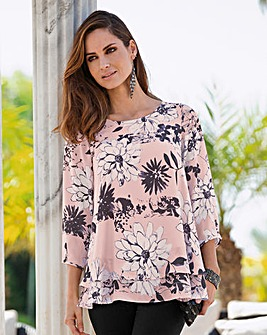 Together Print Blouse