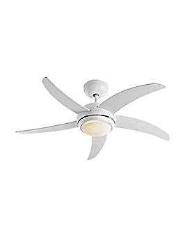 Manhattan Ceiling Fan - White