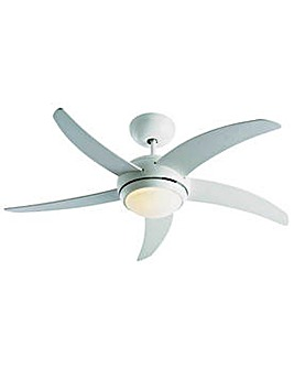 Manhattan Ceiling Fan - White