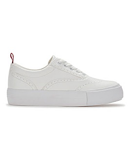 Alani Lace Up Trainers Wide Fit