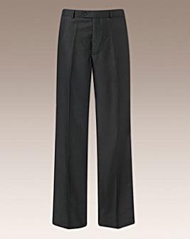 Premier Man Plain Front Trousers 27in