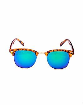 Luna Clubmaster Style Demi Sunglasses