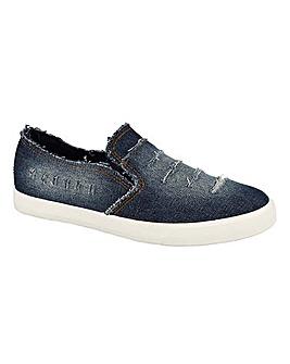 Ari Denim Slip On Shoes Standard Fit
