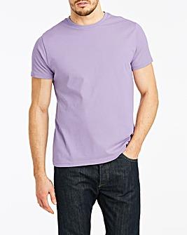 Lilac Crew Neck T-shirt