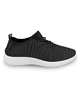 Jana Lace Up Trainers Standard Fit
