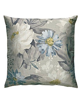 Painted Dahlia Cushion