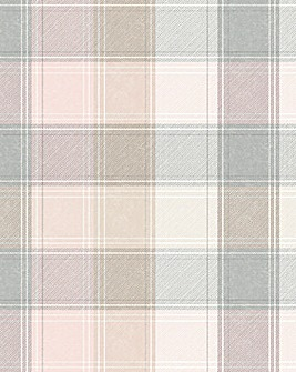 Country Checked Wallpaper