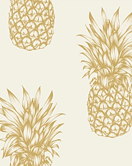 Pineapple Copacabana Wallpaper