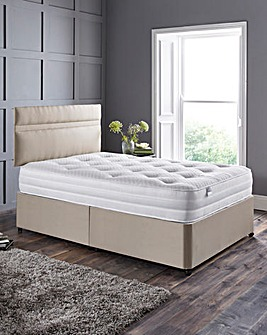 Silentnight 1000 Tufted Divan