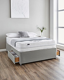 Silentnight Tranquility 1000 Pocket Ortho Divanset with 2 Drawers