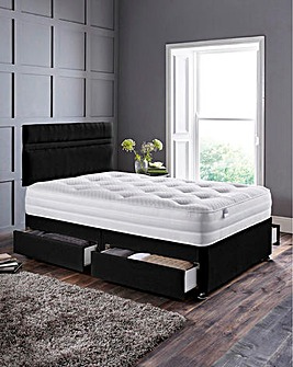 Silentnight Tranquility 1000 Pocket Ortho Divanset with 4 Drawers