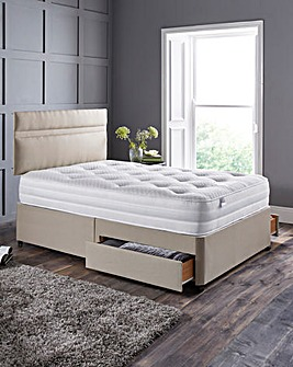 Silentnight Memory 1000 Divan 2 Drawers