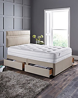 Silentnight Memory 1000 Divan 4 Drawers