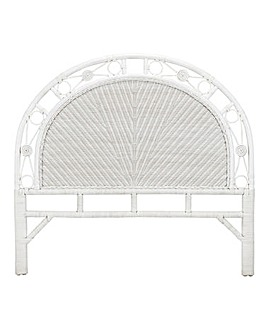 Wicker Kingsize Headboard