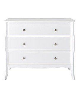 Paris 3 Drawer Chest
