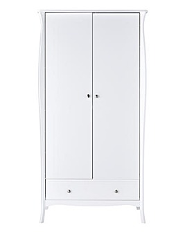 Paris 2 Door 1 Drawer Wardrobe