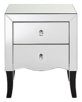 Avignon 2 Drawer Bedside Table