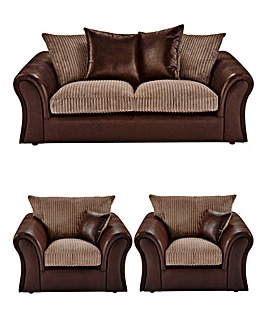 Logan 3 Seater Sofa plus 2 Chairs
