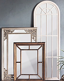 Curtis Mirror Antique White