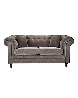 Chesterfield Fabric 2 Seater Sofa