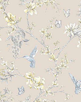 Graham & Brown Simplicity Bird Wallpaper