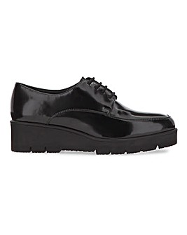 Henrietta Chunky Flatform Shoes Extra Wide Fit