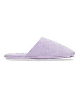 Lytham Pastel Mule Slippers Wide Fit