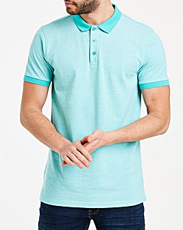 Mint Birds Eye Polo Long