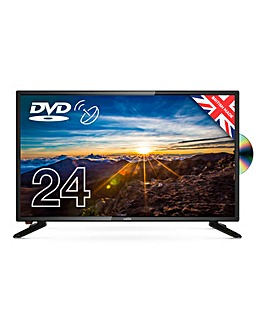 "Cello C2420FS 24"" LED TV with DVD"