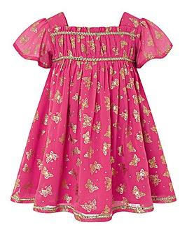 Monsoon Baby Ella Butterfly Dress