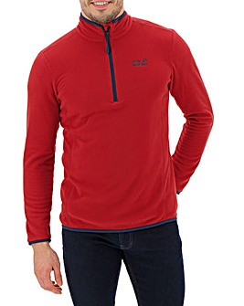 Jack Wolfskin Echo Quarter Zip Fleece