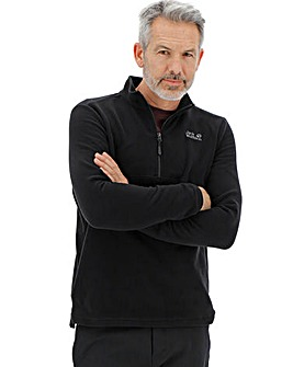 Jack Wolfskin Gecko Quarter Zip Fleece