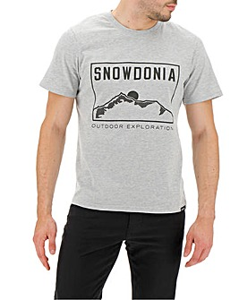 Snowdonia Logo T-Shirt Long