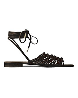 Halle Flat Sandals Standard Fit