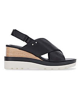 Virginia Sporty Wedge Sandals Extra Wide Fit