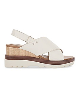 Virginia Sporty Wedge Sandals Wide Fit
