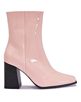 Mel Heeled Ankle Boots Standard Fit