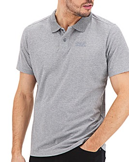 Jack Wolfskin Short Sleeve Pique Polo Shirt