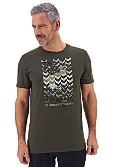 Jack Wolfskin Chevron T-Shirt