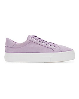 Giselle Flatform Trainers Wide Fit