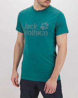 Jack Wolfskin Short Sleeve Brand Logo T-Shirt