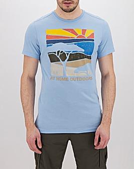 Jack Wolfskin Short Sleeve Savannah T-Shirt