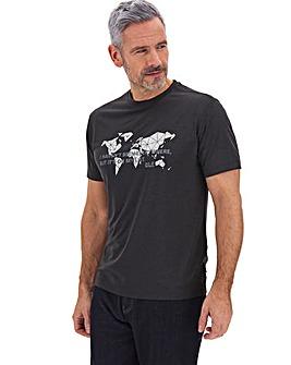 Jack Wolfskin Pack Away World T-Shirt